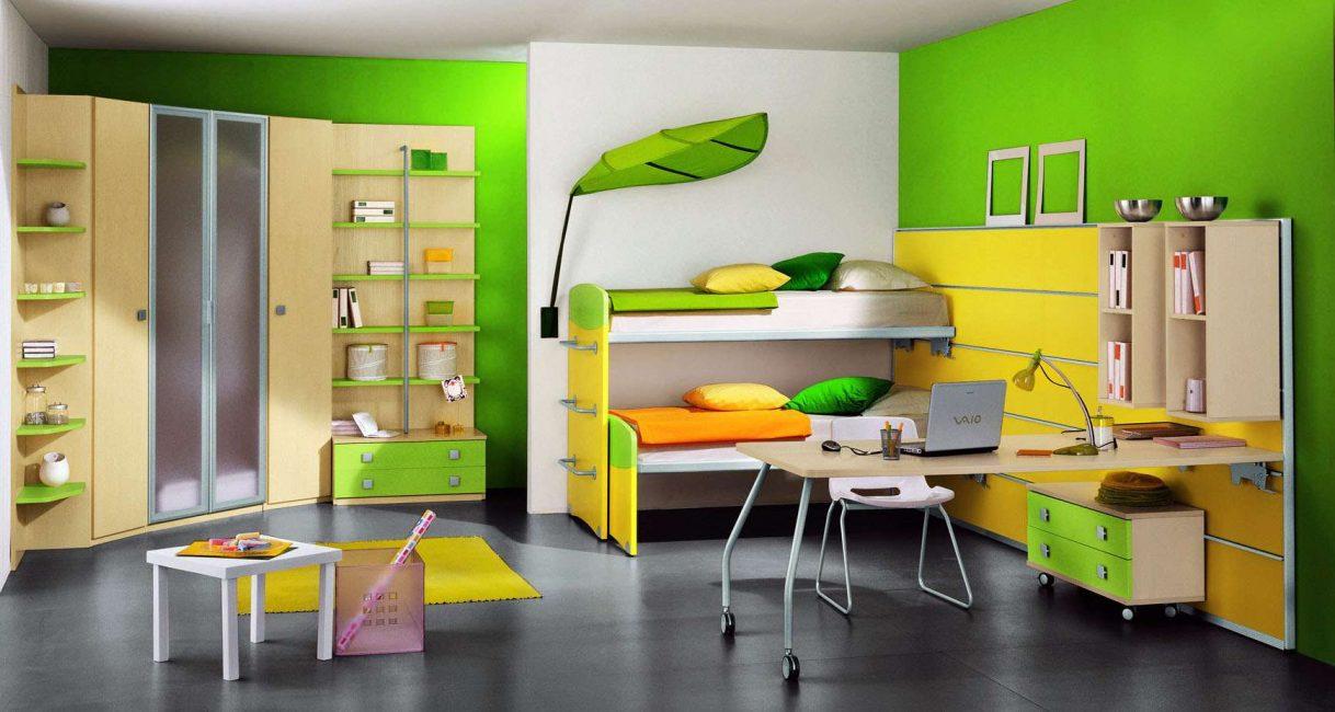 Önemli olan kabine, odanın genel tarzına uyuyor.
