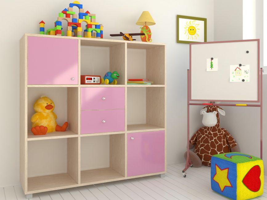 Yaygın olarak oyuncaklar veya kitaplar için kullanılır.