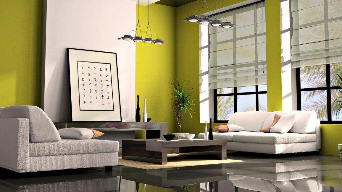 Apartment dalam minimalism Jepun