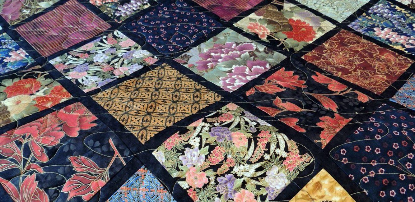 Tekstil Jepun sangat kaya dan cantik.