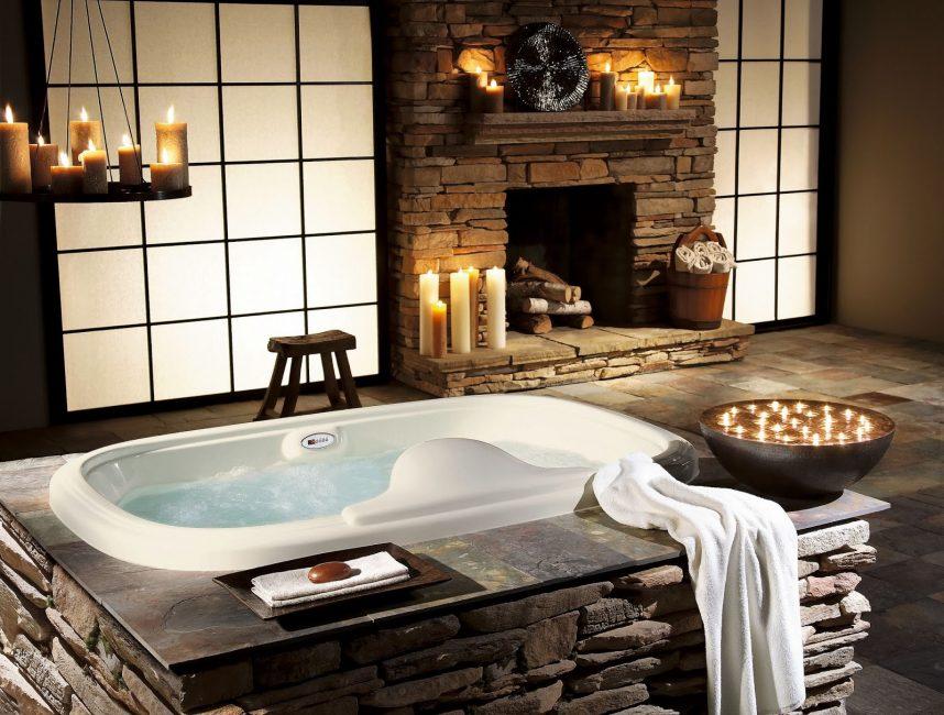 Reka bentuk bilik mandi yang indah