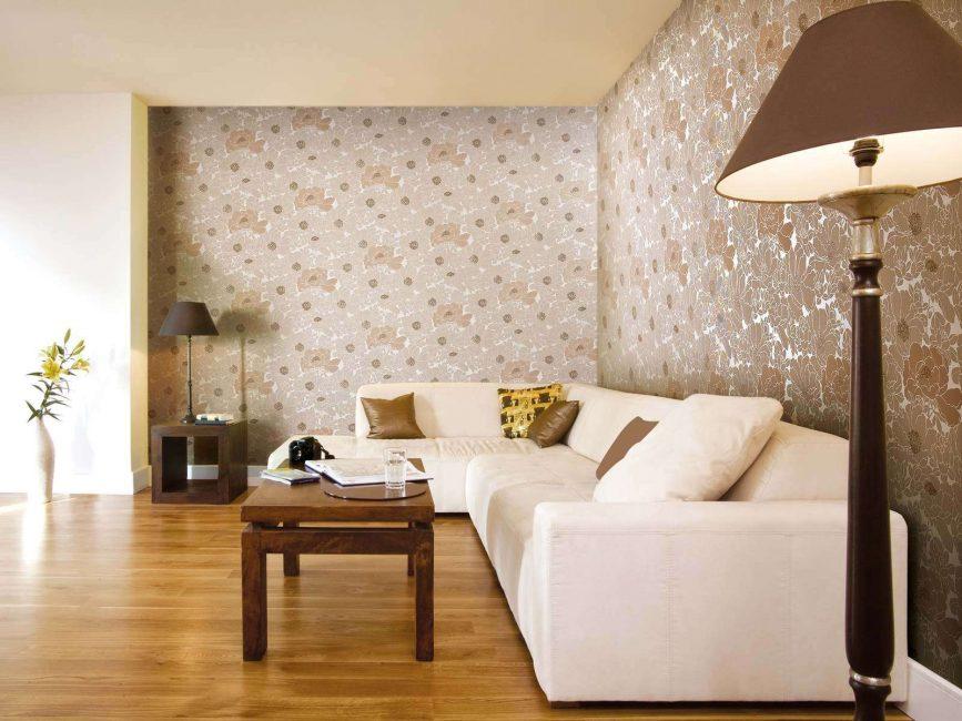 Ruang tamu dalam gaya moden