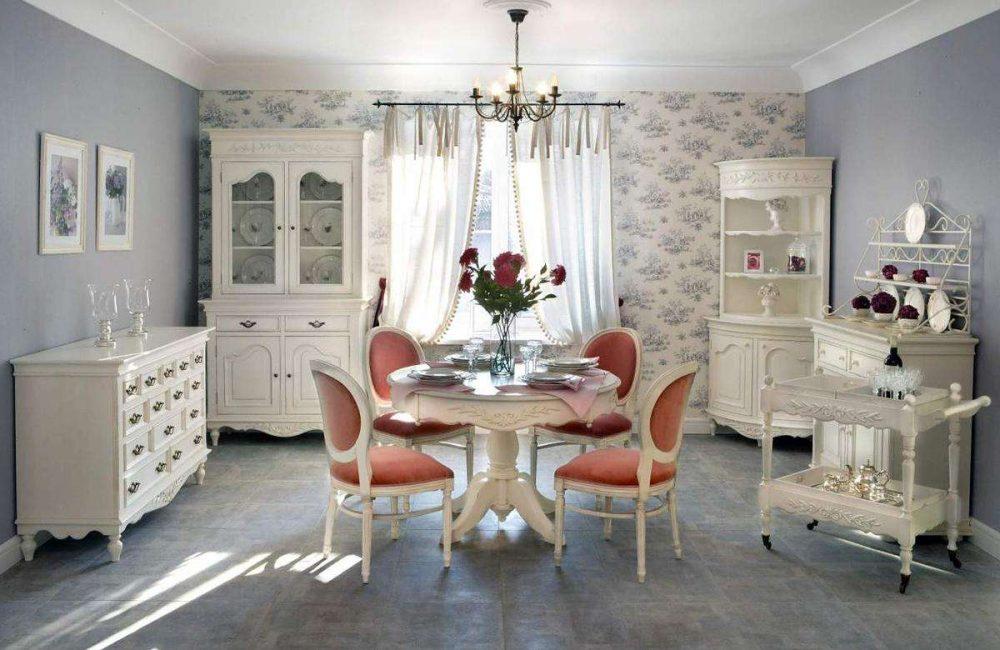 Model pusingan dalam gaya Provence