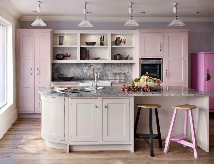Di dapur ini anda perlu berfikir melalui setiap detail.