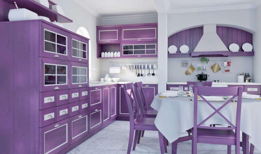 Dapur gaya Provence