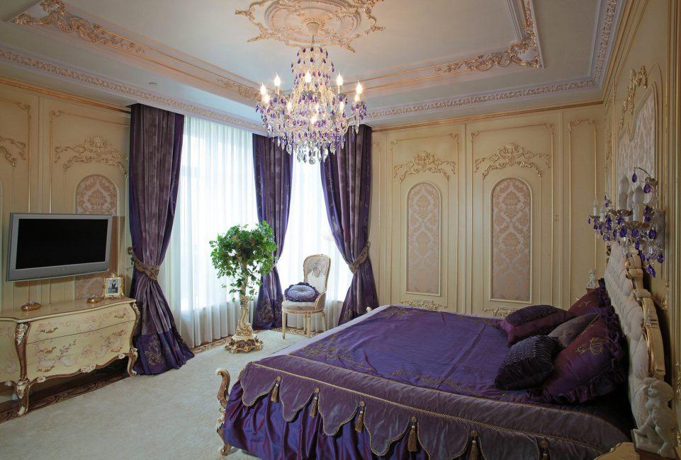 Lilac curtains dari fabrik mahal