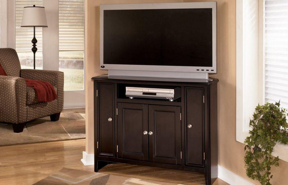 Model segi tiga untuk TV