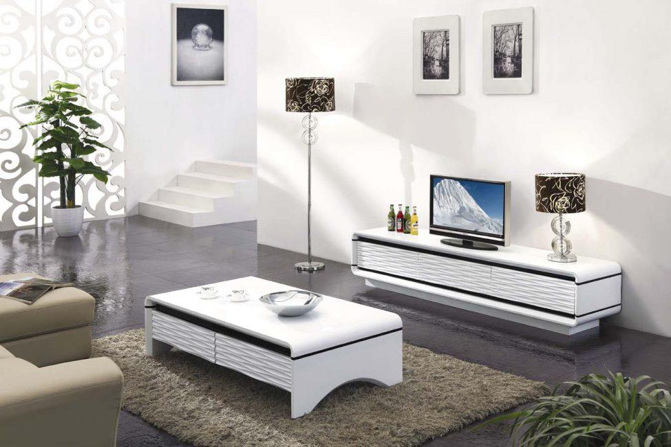 Perabot putih mempromosikan rehat
