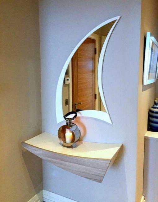 Reka bentuk cermin asal