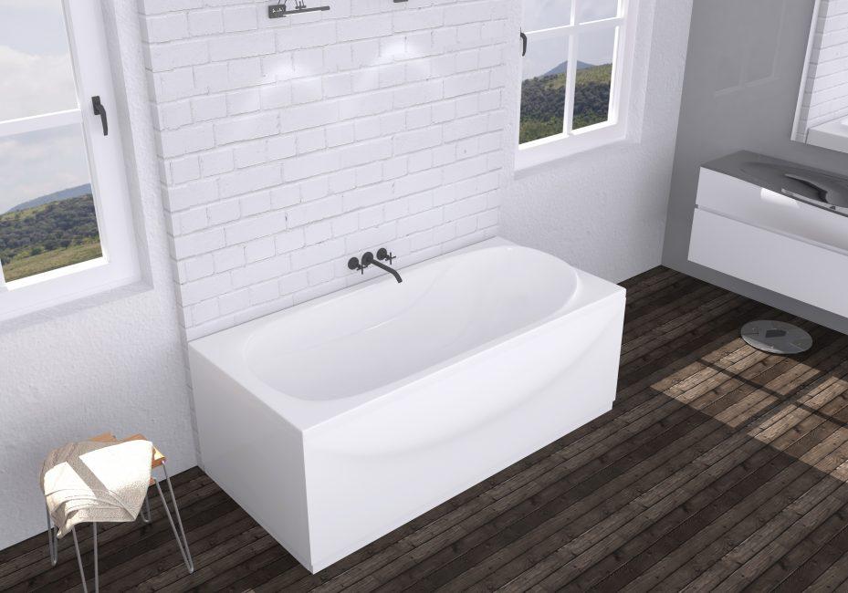 Gaya berteknologi tinggi di bilik mandi