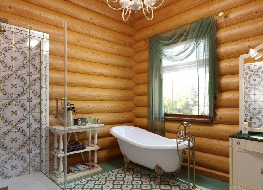 Banyoda nem - ahşap evler için ana sorunlardan biri