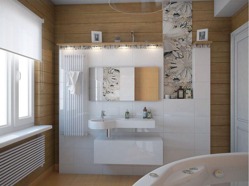 Modern tasarımlı küçük oda.