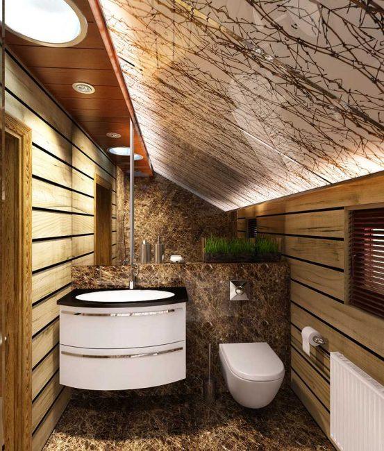 Su Yalıtımı - ahşap bir evde banyoyu bitirmenin zorunlu bir aşaması.