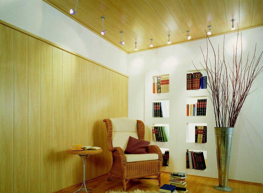 Reka bentuk ruang tamu bahan yang dicadangkan