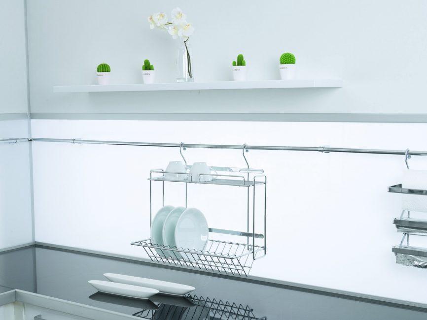 Dapur dalam gaya minimalis
