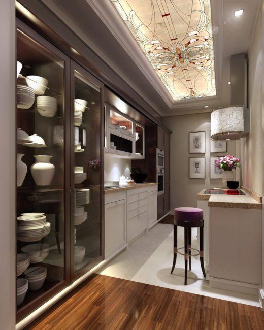 Reka bentuk dapur yang bergaya