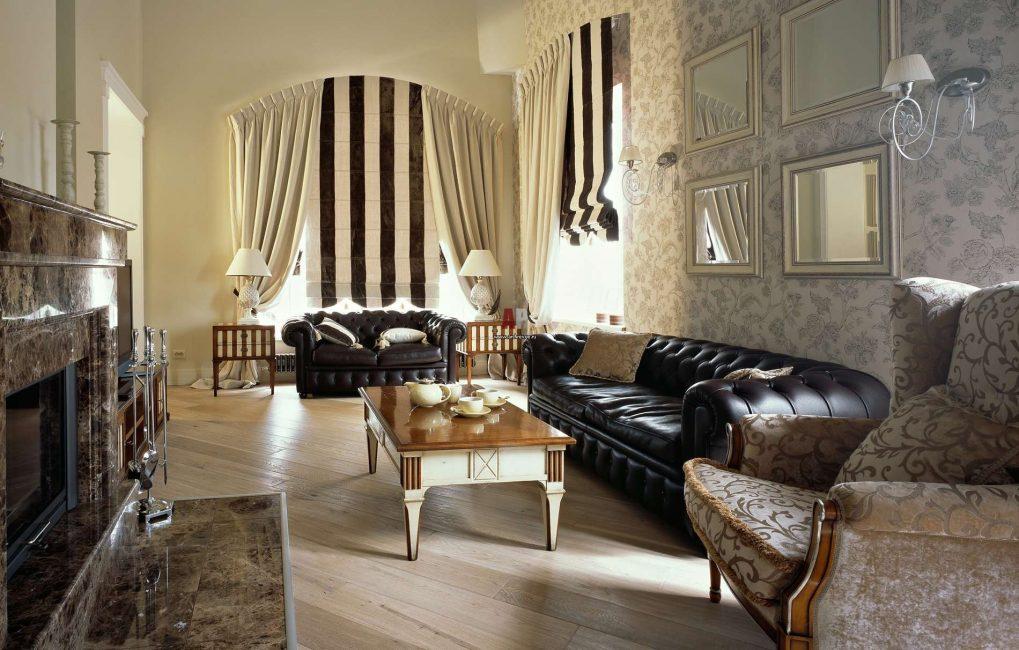 Wallpaper adalah cara utama untuk menghiasi dinding.