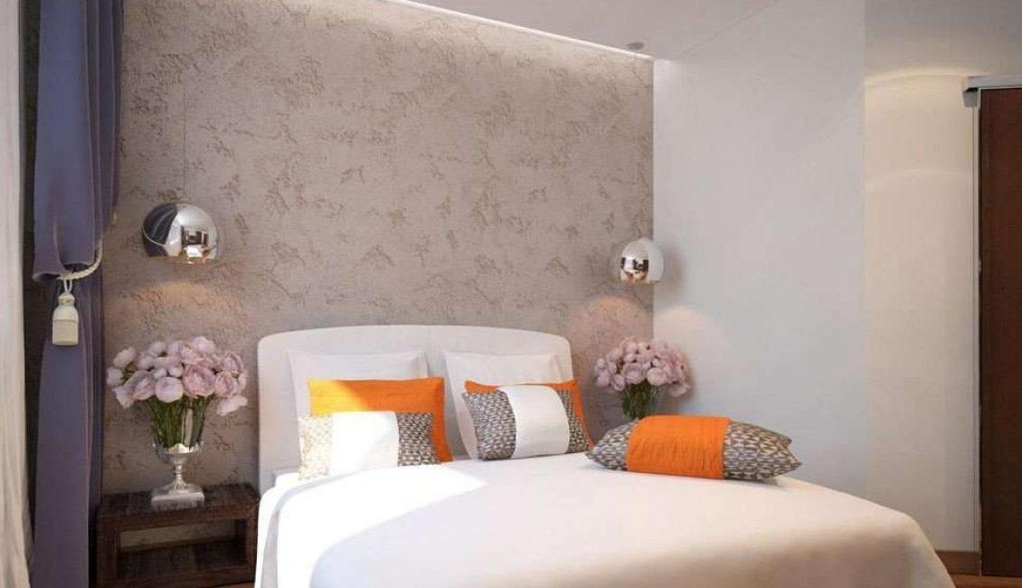 Yatak odası için minimalist tarzı