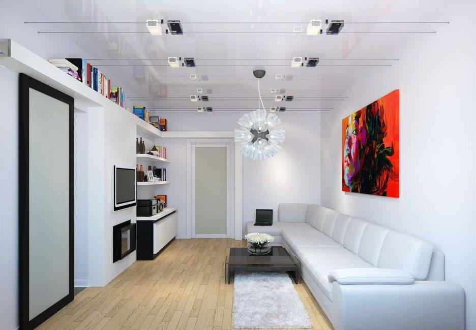 Perabot menetapkan warna cahaya