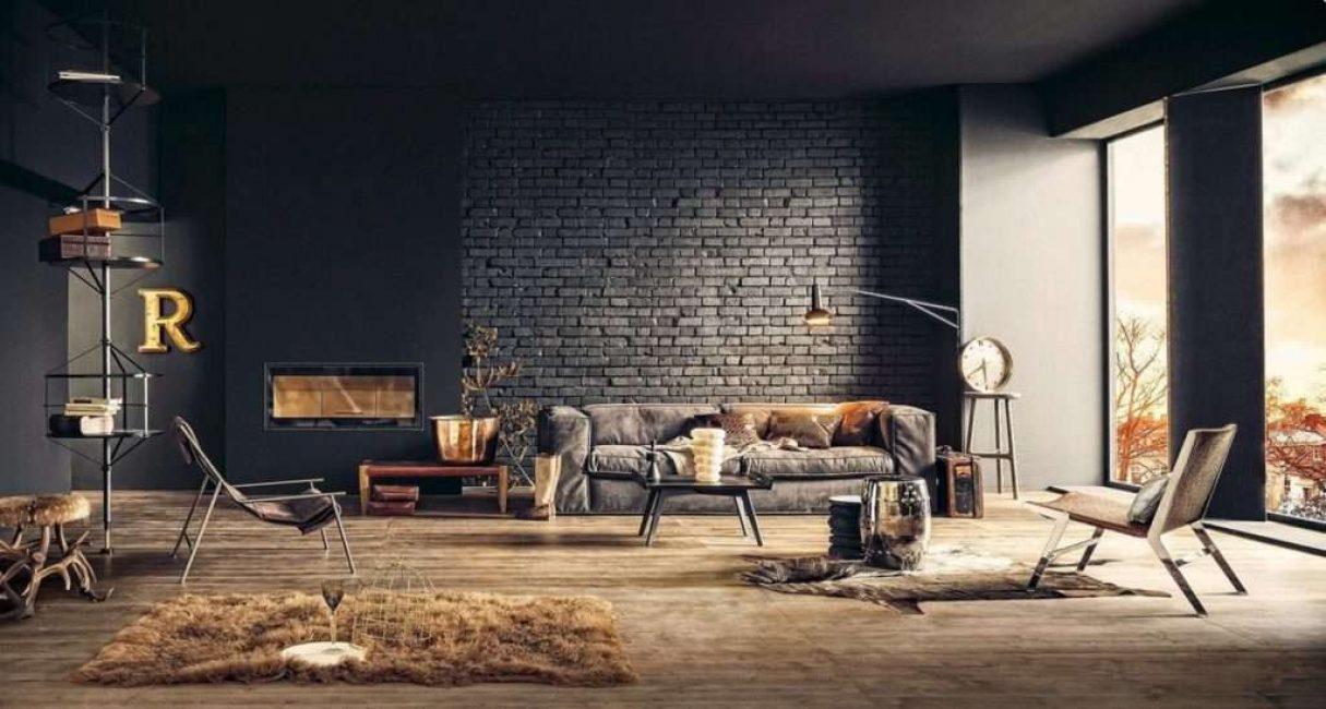Bata gelap mesti dicairkan dengan perabot ringan.