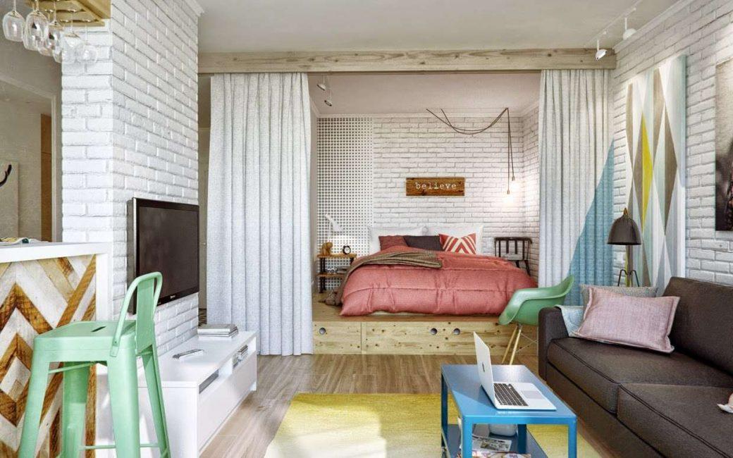 Kami mempunyai katil di tempat yang khusus