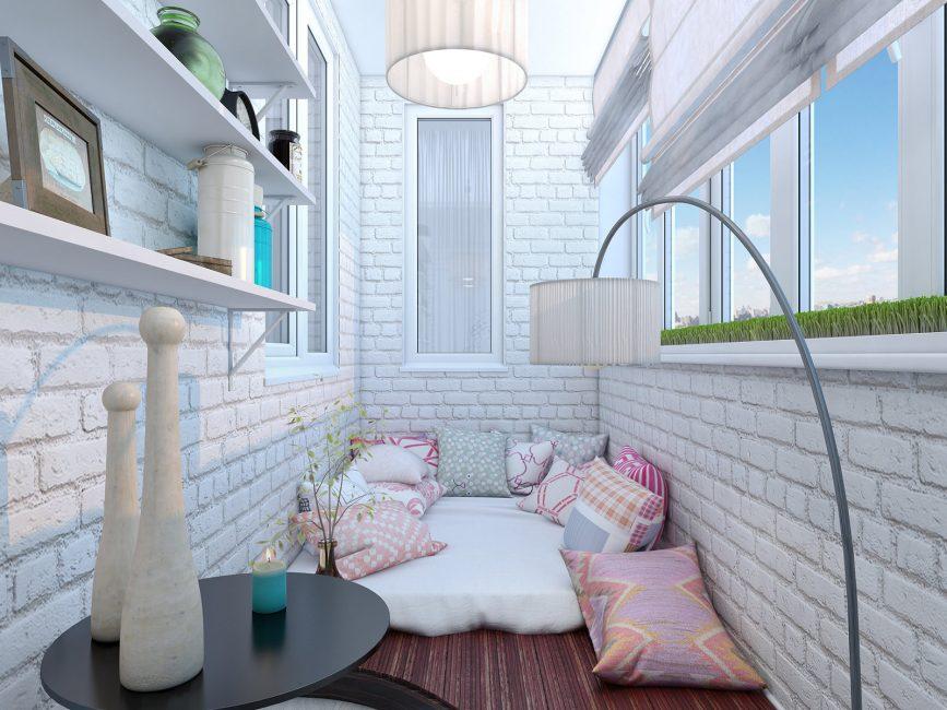 Pilihan katil di balkoni