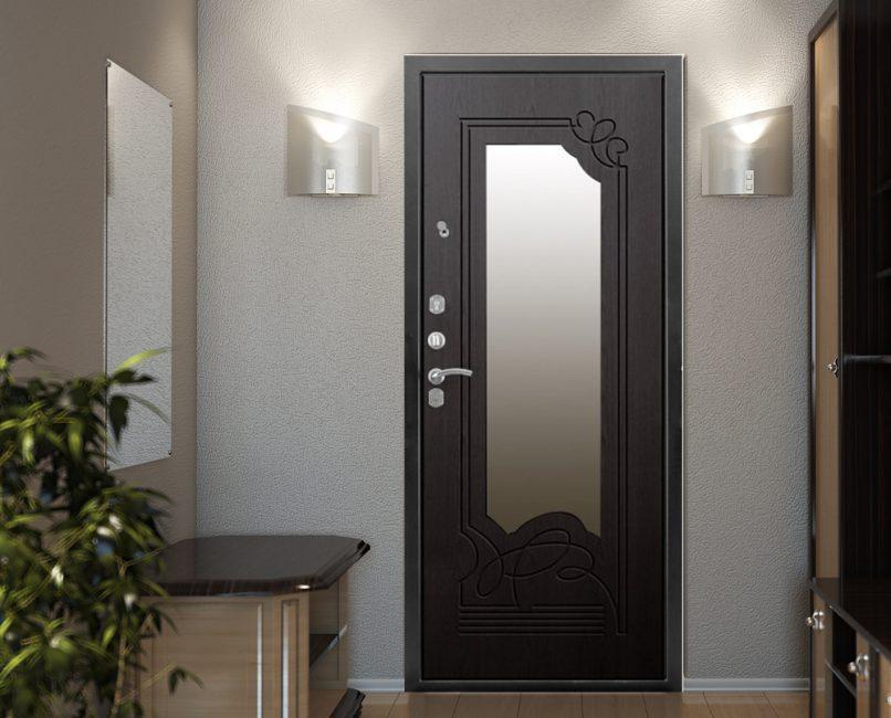 Le dimensioni della porta devono corrispondere all'area dell'interno.