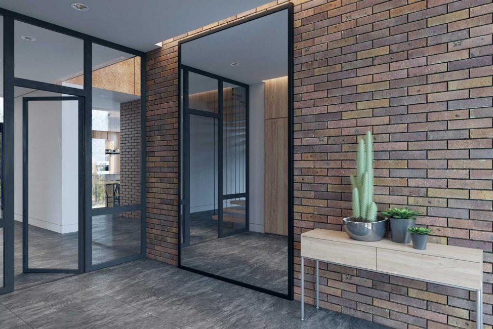 Tali porte possono essere di vari materiali.
