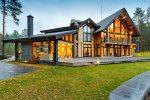 Yapıştırılmış keresteden Fin evlerinin projeleri: İyi ve nasıl düzenlenir? (180+ Fotoğraf)