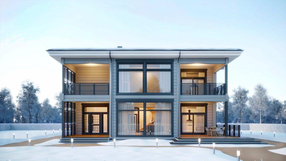Rumah Finland moden