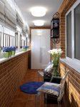Bagaimana untuk melengkapkan balkoni kecil di apartmen: Bergaya, Cantik, Praktikal? 190+ (Foto) Interior dengan penamat