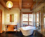 Banyoda raf tavanı: Mükemmel bir sonuç için 4 Adım. Diy kurulum