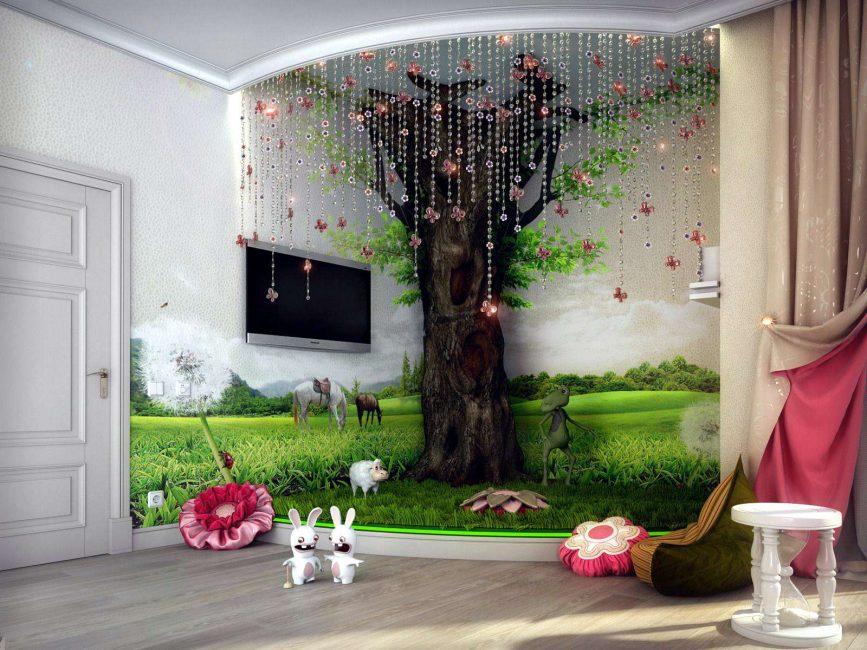Pilihan reka bentuk yang menarik untuk kanak-kanak
