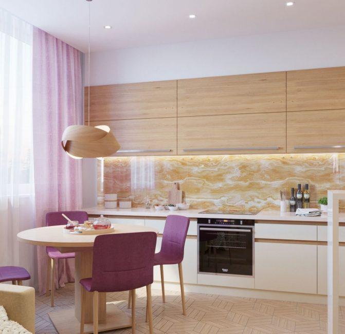 Mutfak için dikişsiz paneller