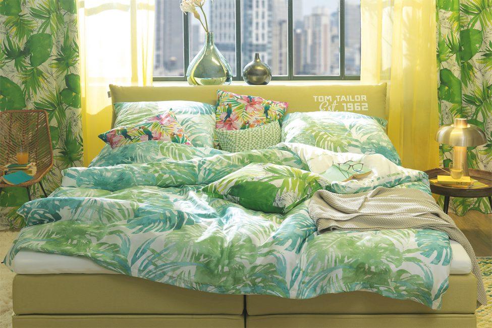 Dekorasyon için parlak tekstiller