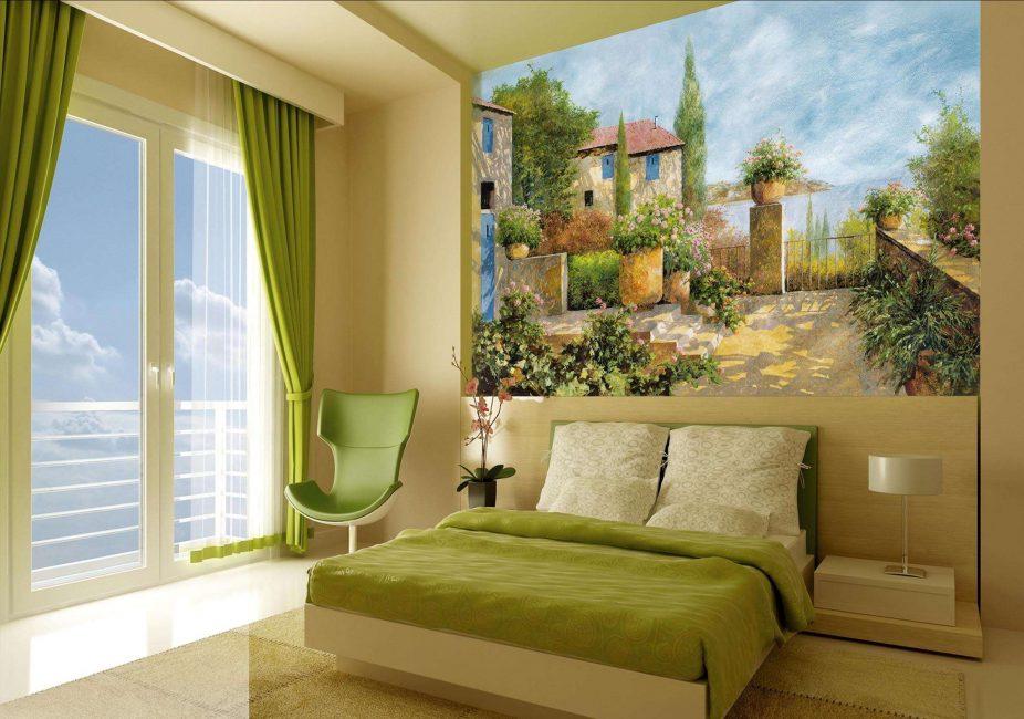 Gunakan wallpaper foto untuk memadankan warna utama