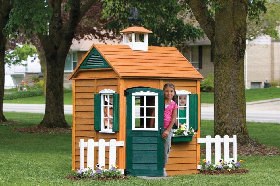 Bagi kanak-kanak untuk menjadi selesa, reka bentuk mesti lebih tinggi daripada ketinggiannya.