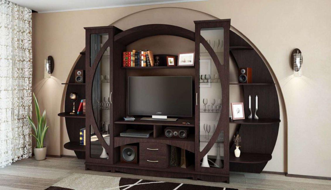 Ide yang menarik untuk dinding di ruang tamu