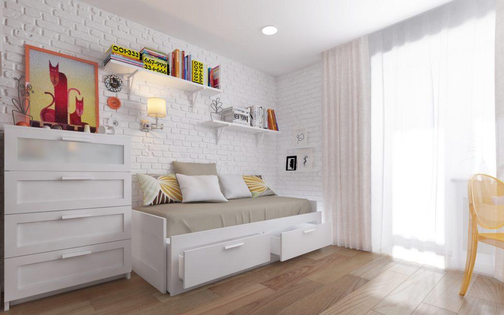 Kurangkan ketakutan perabot putih