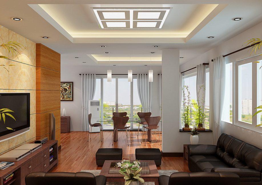 Lampu persegi untuk gaya yang luar biasa