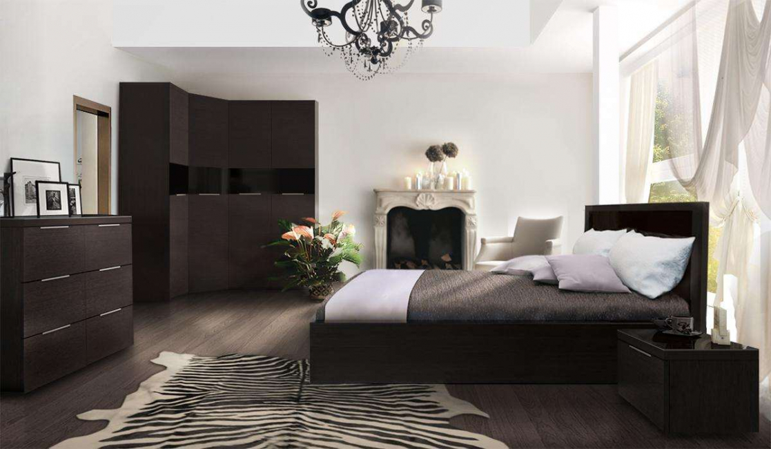 Camera Da Letto Wenge.Wenge In The Interior 160 Photos Furniture Design In The