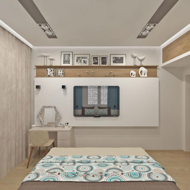 Di pedalaman bilik tidur moden