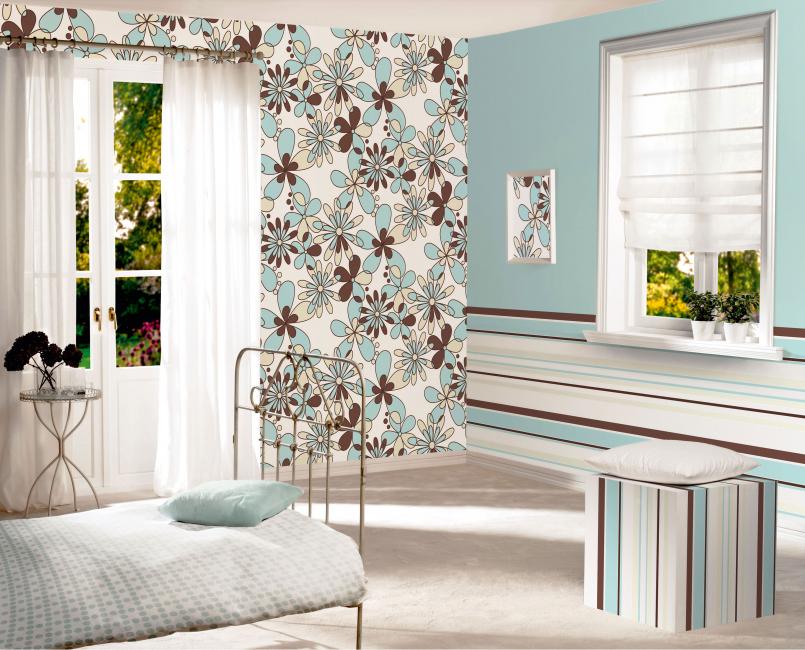 Yatak odası için canlandırıcı renk