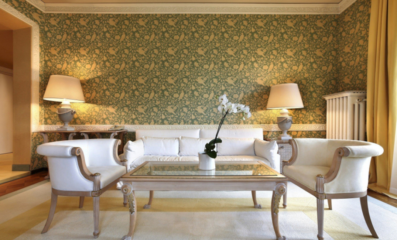 Klasik tarz oturma odası