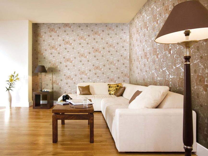 Pilihan reka bentuk ruang tamu
