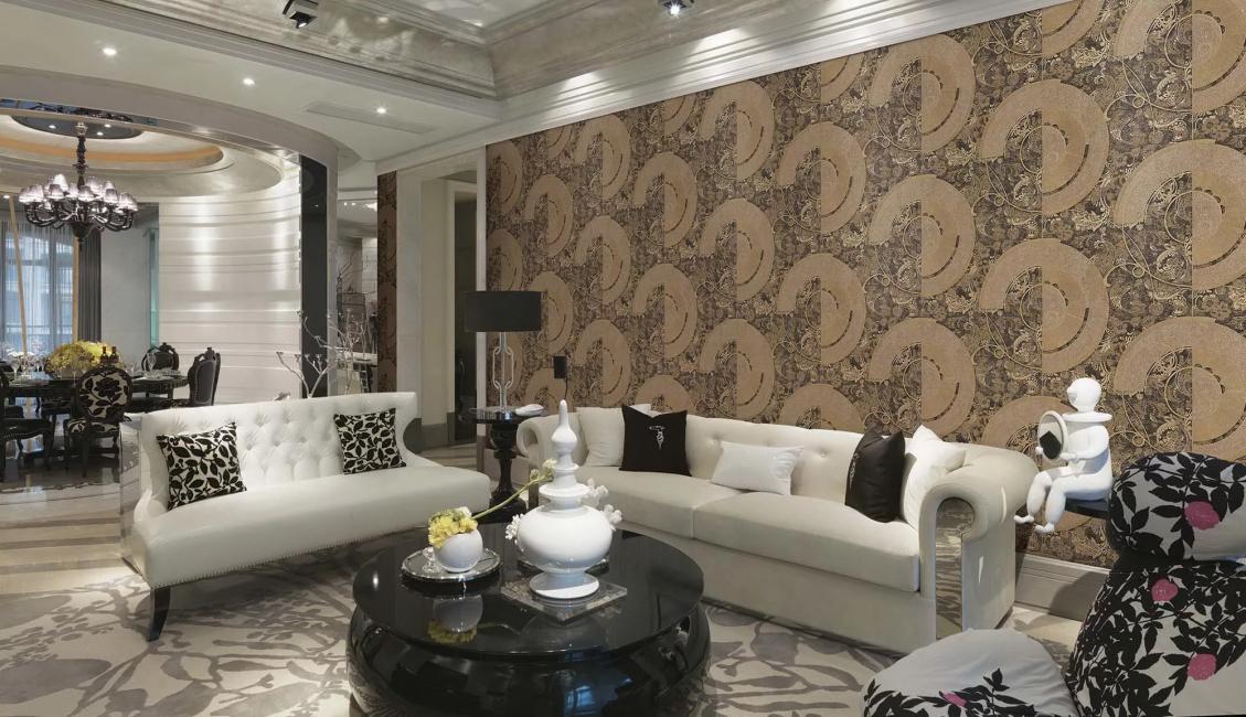 Ruang tamu gaya moden