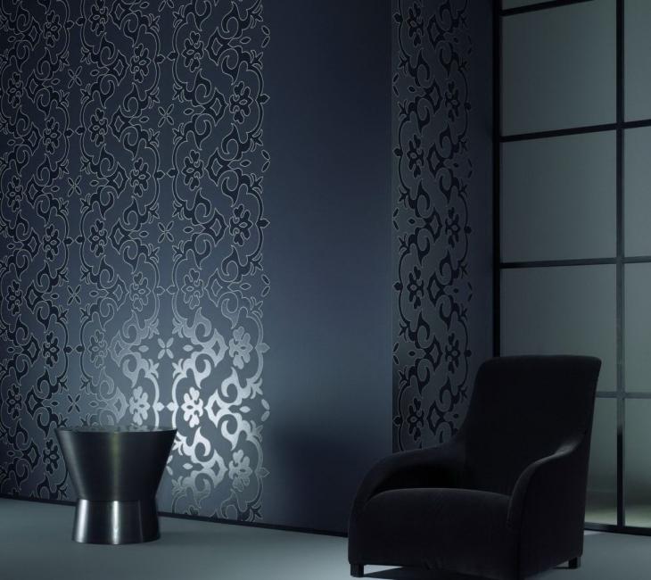 Tekstur yang sempurna dan kertas dinding berwarna untuk gaya berteknologi tinggi