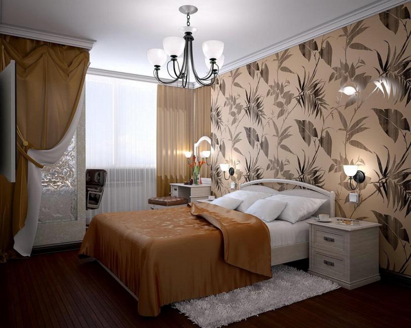 Reka bentuk bergaya untuk bilik tidur