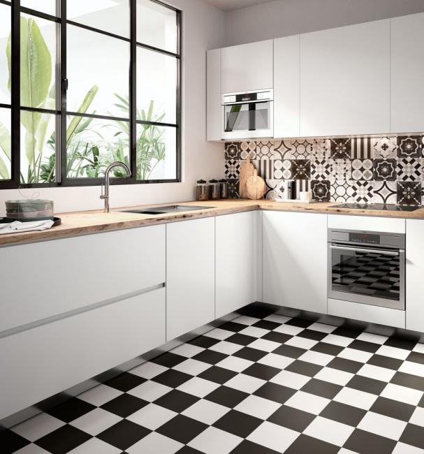 Oda için siyah ve beyaz renkler
