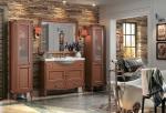 Bilik mandi yang indah dengan gaya klasik